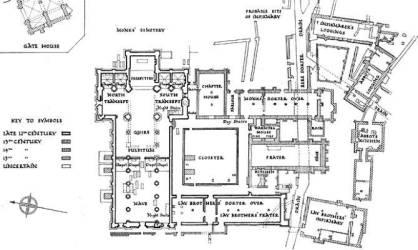 medieval floor plan bramley plans