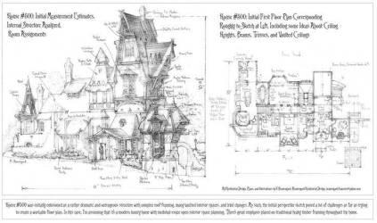 Medieval Tower House Floor Plan Fantasy Castle Plans Friv House Plans #2597