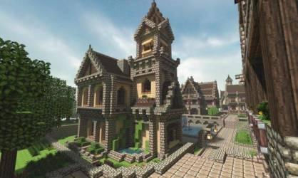 Michael Sullivan Medieval Minecraft House Amazing Stories House Plans #45474