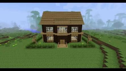 Minecraft House Building Ideas Youtube House Plans #26294