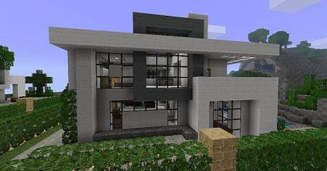 Modern House Beach Town Project Minecraft House Plans #151735