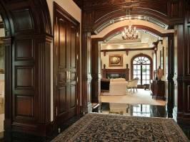 Old World Gothic Victorian Interior Design   House Plans ...