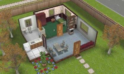 Sims 3 Cheap House Ideas House Plans