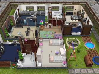 Sims Freeplay Player Designed House Youtube House Plans #2678