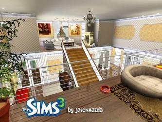 Sims House Designs Royal Elegance Youtube House Plans #15693
