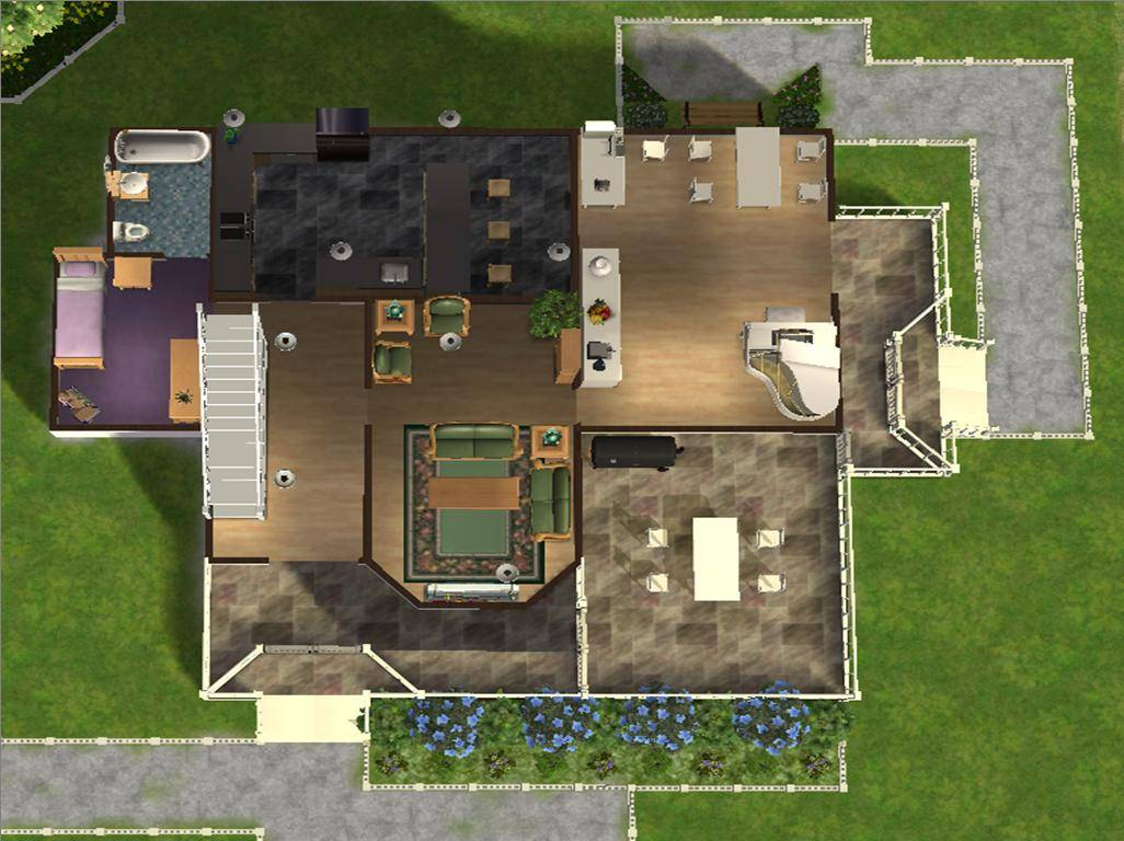 Sims 3 4 Bedroom House Plans Gallery Image Iransafebox