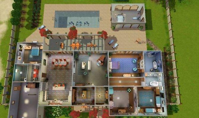 Clay House Ideas. Sims 3 House Building Ideas