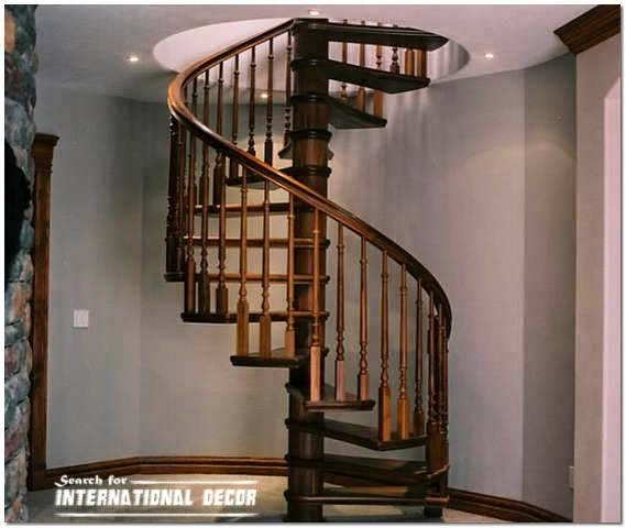 Spiral Staircase Second Floor Attic Private House Plans 108699 | Spiral Staircase To Attic | Easy | Adding | Stairway | White | Corner
