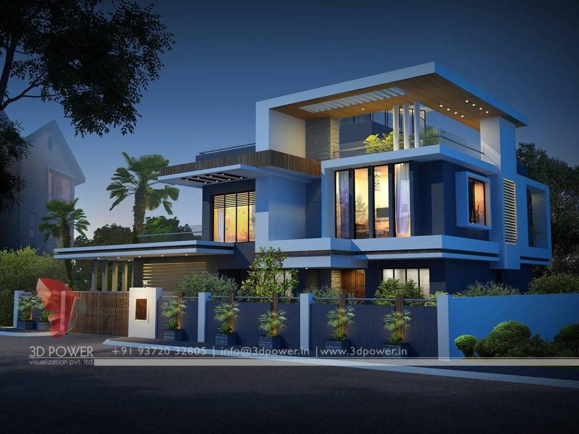 Ultra Modern Home Designs Contemporary Bungalow Exterior ...
