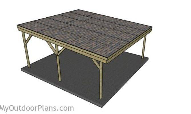 Wood Carport Designs Myoutdoorplans Woodworking House Plans