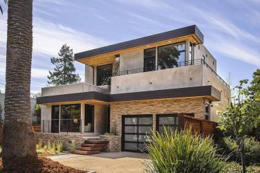 World Architecture Contemporary Style Home House Plans #94431