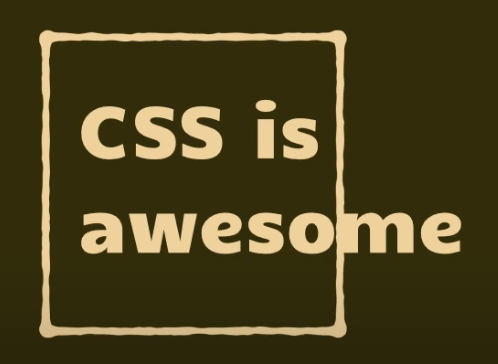 The standard 'CSS is awesome' meme where the word 'awesome' flows outside of its containing box.