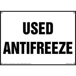 Hazardous Waste (Hazwaste) and Used Oil Signs