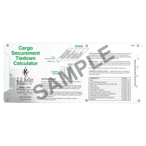 Cargo Securement Sliding Calculator
