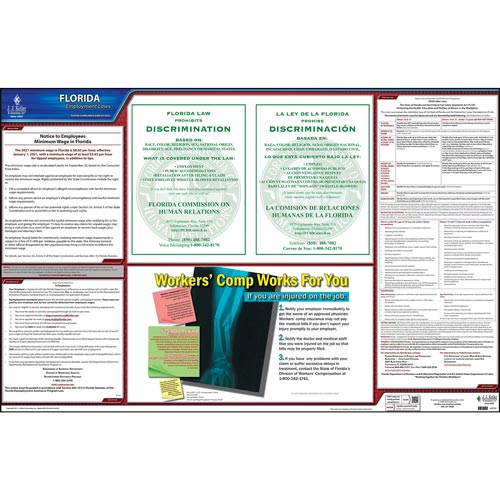 2021 florida federal labor law posters
