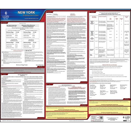 2021 new york federal labor law posters