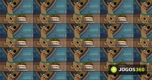 Jogo ScoobyDoo Creepy Cooking no Jogos 360