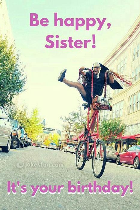 Funny Birthday Sister Birthday Meme : funny, birthday, sister, Joke4Fun, Memes:, Happy, Birthday, Sister!