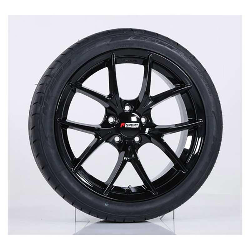 Honda Civic Wheels Black