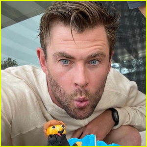 Chris Hemsworth Shows Off Super Cool Birthday Cake His Kids Made for Him!