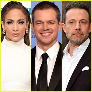 Matt Damon Hangs Out with Ben Affleck & Jennifer Lopez in New Photos!