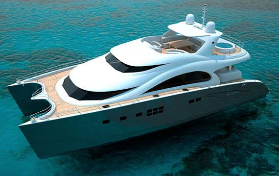 70 Sunreef Power Sea Bass Yacht Makes US Debut In Miami