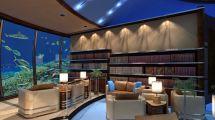 Underwater Hotel Room Ocean View