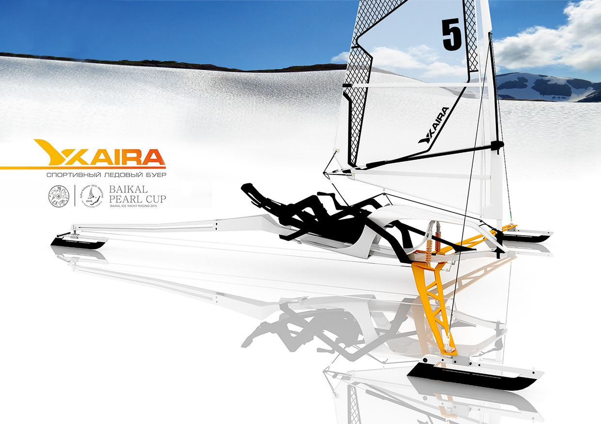 Foldable Kaira Ice Yacht To Be Tested Out At Baikal Ice