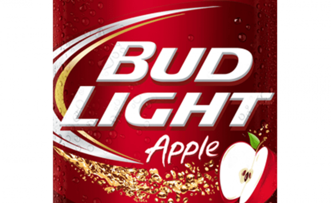 Bud Light Apple Fruit Vegetable Beer Anheuser Busch
