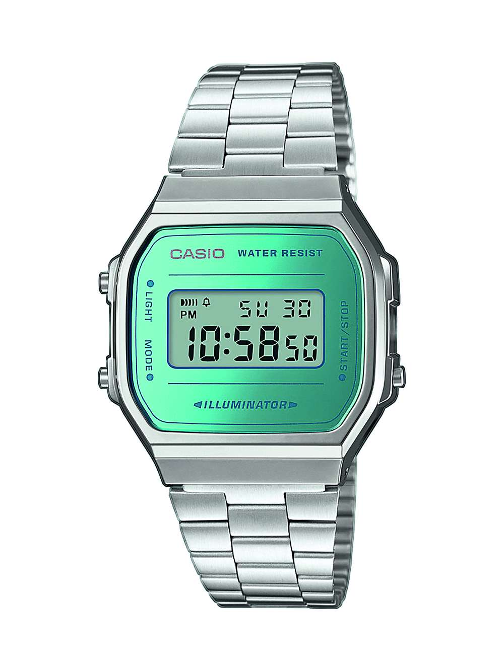 CASIO Collection Retro A168WEM2EF Armbanduhr bequem