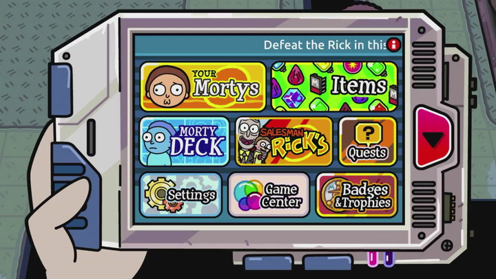 rick and morty pocket