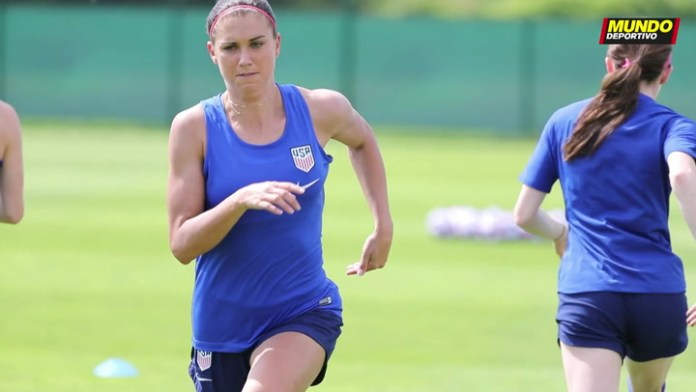 Alex Morgan is ready to play against Spain
