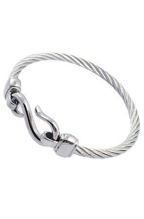 Hook Cable Bracelet (silver)