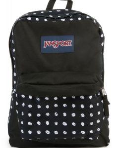 also jansport backpack superbreak black sketch dot rh karmaloop