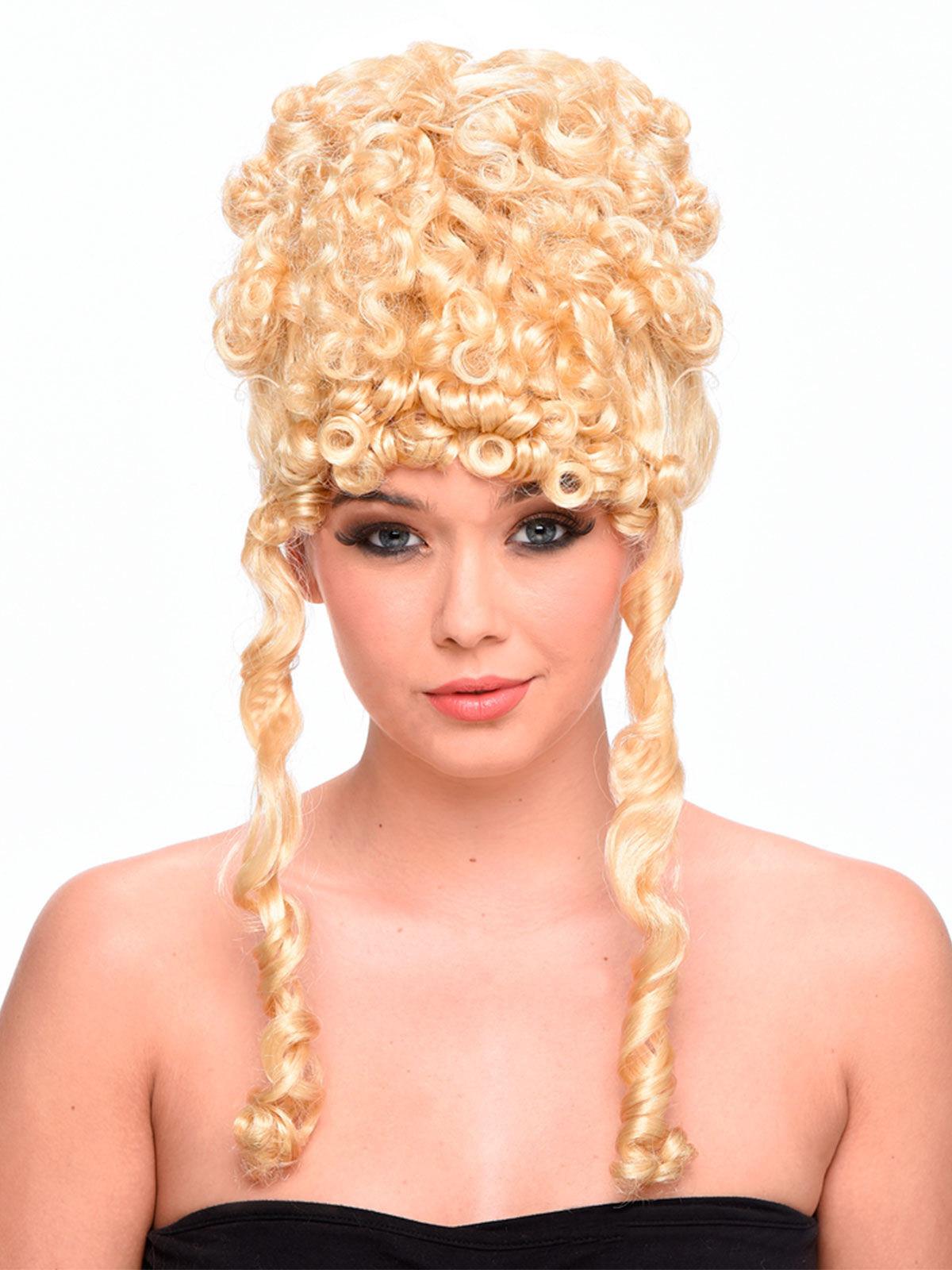 Gttin AntikePercke Hochsteckfrisur und Locken blond