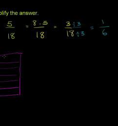 6th grade eureka math tape diagram addition and subtraction [ 1280 x 720 Pixel ]