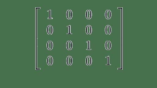 Identity matrix: intro to identity matrices (article