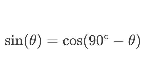 Sine & cosine of complementary angles (angles that sum to