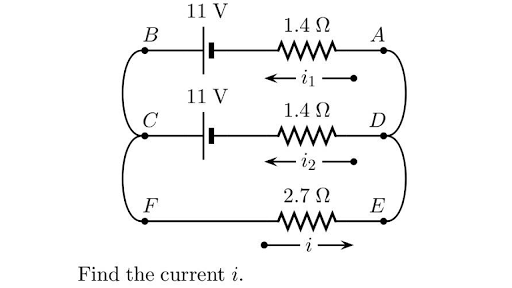 Note The Diagram Below Which Shows A Circuit Created With