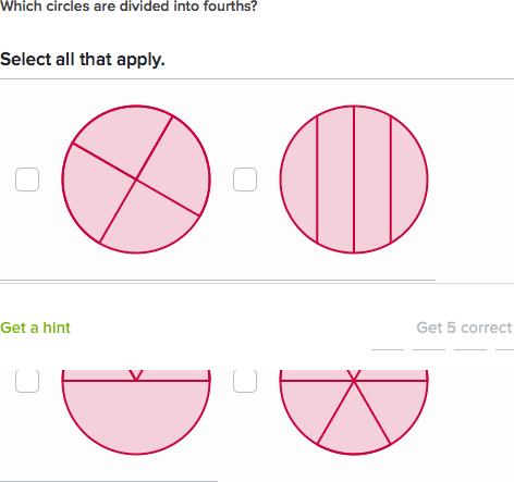 Divide A Circle Into 3 Equal Parts