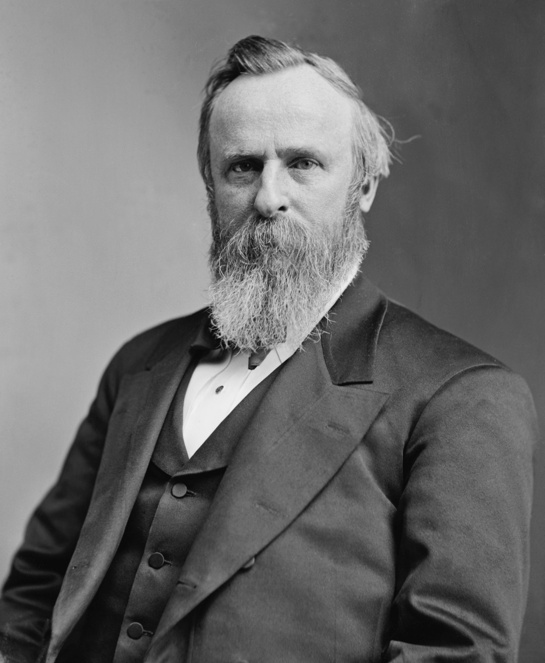 Portrait of Rutherford B. Hayes.