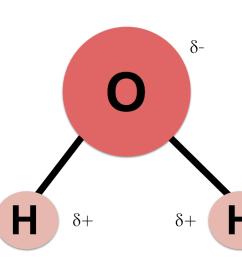 diagram of a single water molecule h2o  [ 1102 x 858 Pixel ]