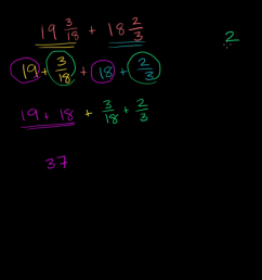 Add and subtract fractions   5th grade   Math   Khan Academy [ 720 x 1280 Pixel ]