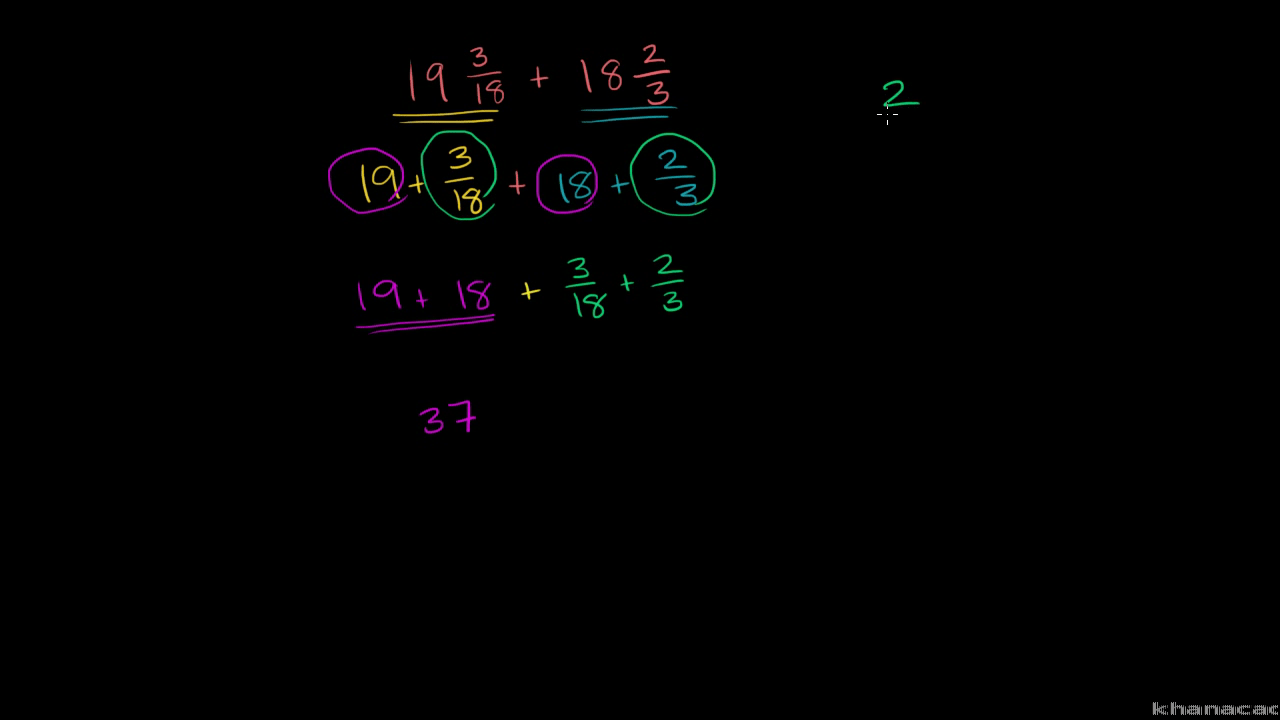 hight resolution of Add and subtract fractions   5th grade   Math   Khan Academy