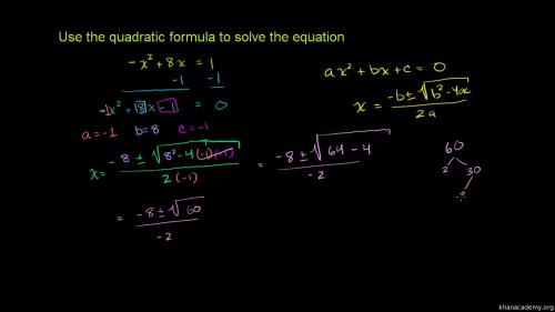 small resolution of Quadratic functions \u0026 equations   Algebra 1   Math   Khan Academy