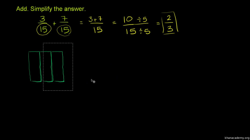 medium resolution of Add and subtract fractions   4th grade   Math   Khan Academy