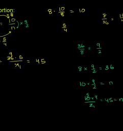 Worked example: Solving proportions (video)   Khan Academy [ 720 x 1280 Pixel ]