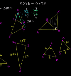 Determining similar triangles (video)   Khan Academy [ 720 x 1280 Pixel ]