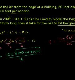 Quadratic functions \u0026 equations   Algebra 1   Math   Khan Academy [ 720 x 1280 Pixel ]