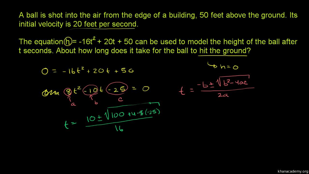 hight resolution of Quadratic functions \u0026 equations   Algebra 1   Math   Khan Academy